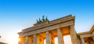 De Brandenburger Tor in Berlijn
