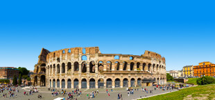Het colosseum in Rome