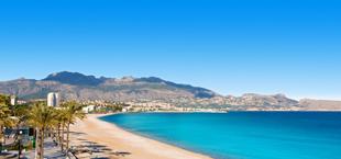 Strand van Playa de Albir in Alicante
