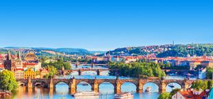 Bekende brug in Praag