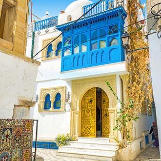 Straatjes in Sousse