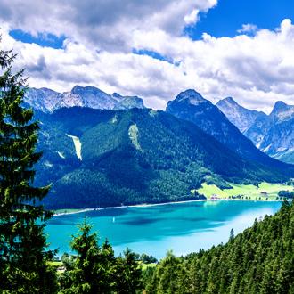 Achensee meer in Pertisau, Tirol, Oostenrijk
