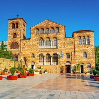 Kerk Agios Dimitrios in Thessaloniki, Griekenland