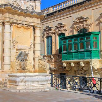 Architectuur-in-Valletta-Malta