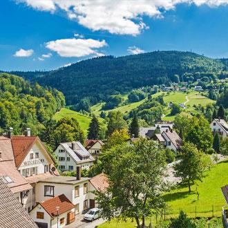 Bad-Herrenalb-Zwarte-woud-Duitsland