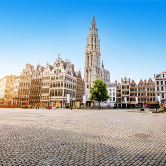 Stadsplein in Antwerpen, Belgie