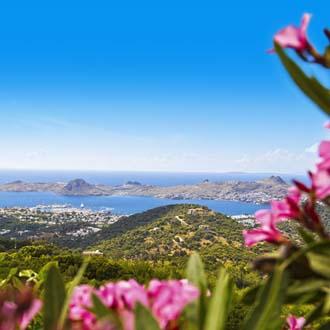 Uitzicht over de Egeische Kust