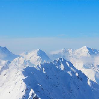 Bergtoppen in Solden