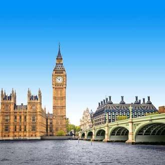 Big Ben in Londen weekend