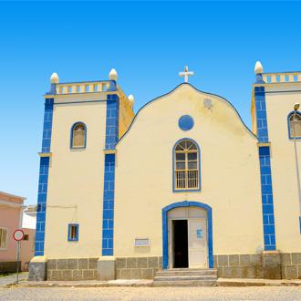 Santa Isabel kerk op Kaapverdië