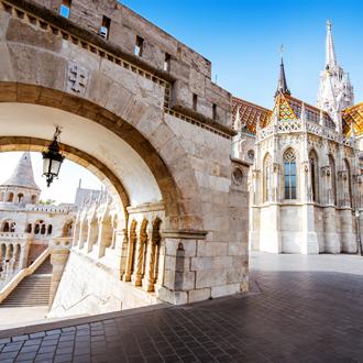 Matthias kerk in Boedapest, Hongarije
