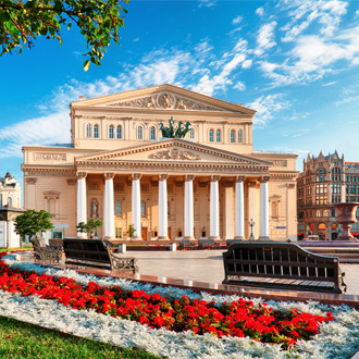 Het Bolsjojtheater in Moskou