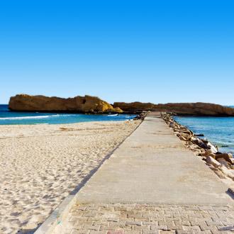 Boulevard Al Qurayyah beach