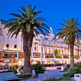 Riva Boulevard in Split