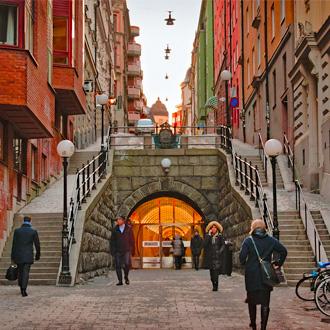Brunkeberg Tunnel Stockholm, Zweden