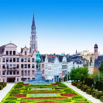 Mont des Arts in Brussel