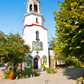 De Saint George Monastery in Pomorie, Bulgarije
