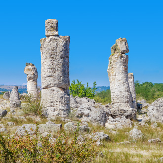 Een steenwoestijn in Varna, Bulgarije