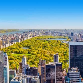 Luchtfoto van Central Park in Manhattan, New York City