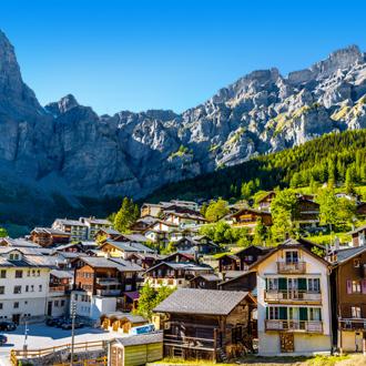 Chalets in Wallis, Zwitserland