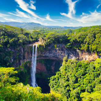Chamarel waterval Mauritius