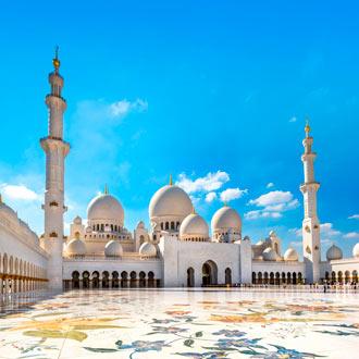 Sheikh Zayed Moskee in Abu Dhabi: één van de mooiste en grootste moskeeën ter wereld!