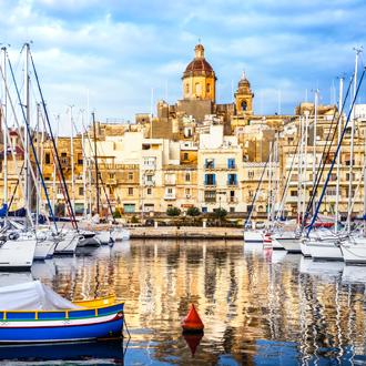 De-haven-van-Valletta-in-Malta
