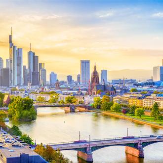 De-horizon-van-Frankfurt-in-Hessen