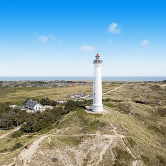 Lighthouse in Denemarken