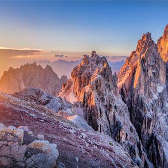 Bergtoppen in de Dolomieten Italie