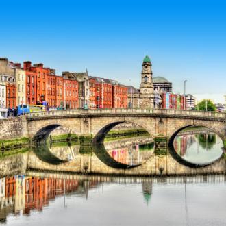 Sfeerimpressie van de stad Dublin