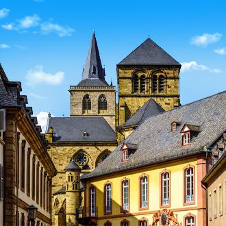Duitsland-Historische-stad-Trier-in-Rheinland-Pfalz