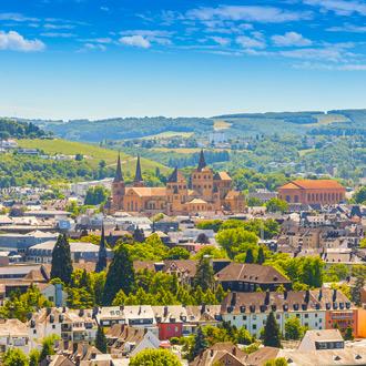 De stad Trier in Eifel in de Duitse deelstaat Rijnland-Palts
