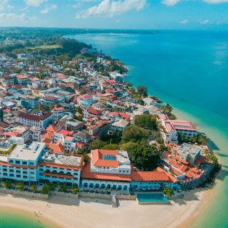 Foto van Stone town Zanzibar stad, Zanzibar