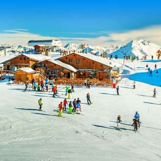 Les Trois Vallees, skigebied in Frankrijk