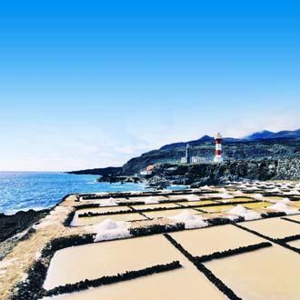 Fuencaliente op La Palma met zee en vuurtoren