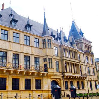 Grand Ducal Paleis in Luxemburg