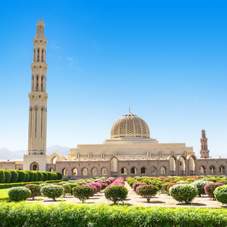 Grand Mosque in Muscat Oman
