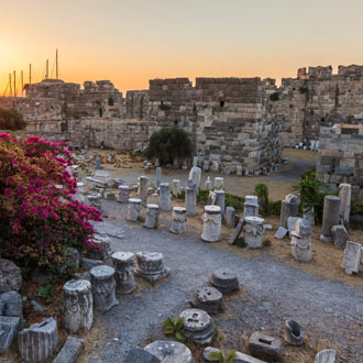 Historische opgravingen en ruïnes bij Kos stad