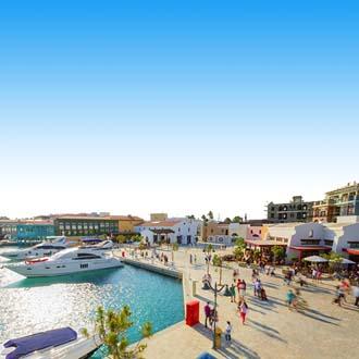 Haven met boten in Limassol, Cyprus