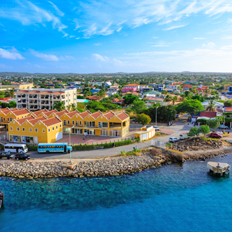 Haven van Kralendijk in Bonaire