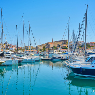 Haven van Cesme in Turkije