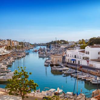 Haven van Antiguo de Ciutadella op Menorca, Spanje