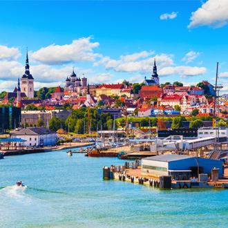 Haven van Tallinn Estland