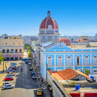 Het centrale plein van de Cubaanse stad Havana