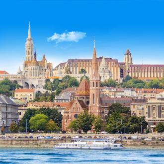St. Keizer kerk in Budapest, Hongarije