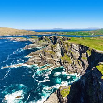 De Kerry Cliffs in Ierland