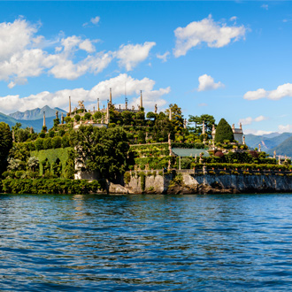 Isola Bella eiland bij Lago Maggiore