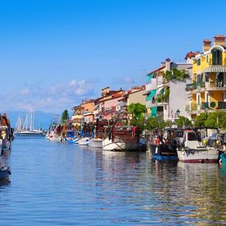 Italie het kanaal van Grado