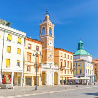 Tre Martiri plein in Rimini